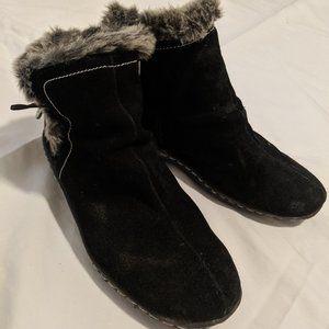 Khombu Short Black Boots